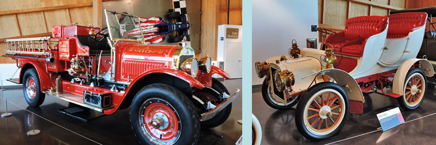 Antique Fire Engine                                                                                                                                 1906 Cadillac