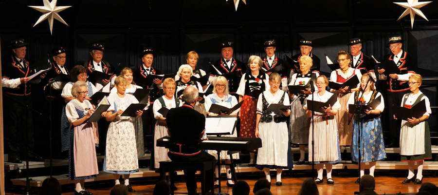 Swiss Harmonie of Los Angeles Performing in its Annual Christmas Concert